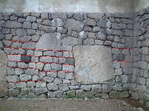 石垣の積み方